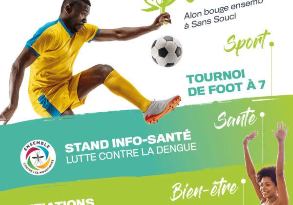Journée Sportive à Sans-Souci – Alon bouge ensemb !
